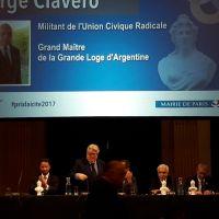 Consegna del Premio della Laicità a Jorge Clavero
